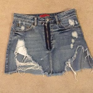 signatures Jean skirt